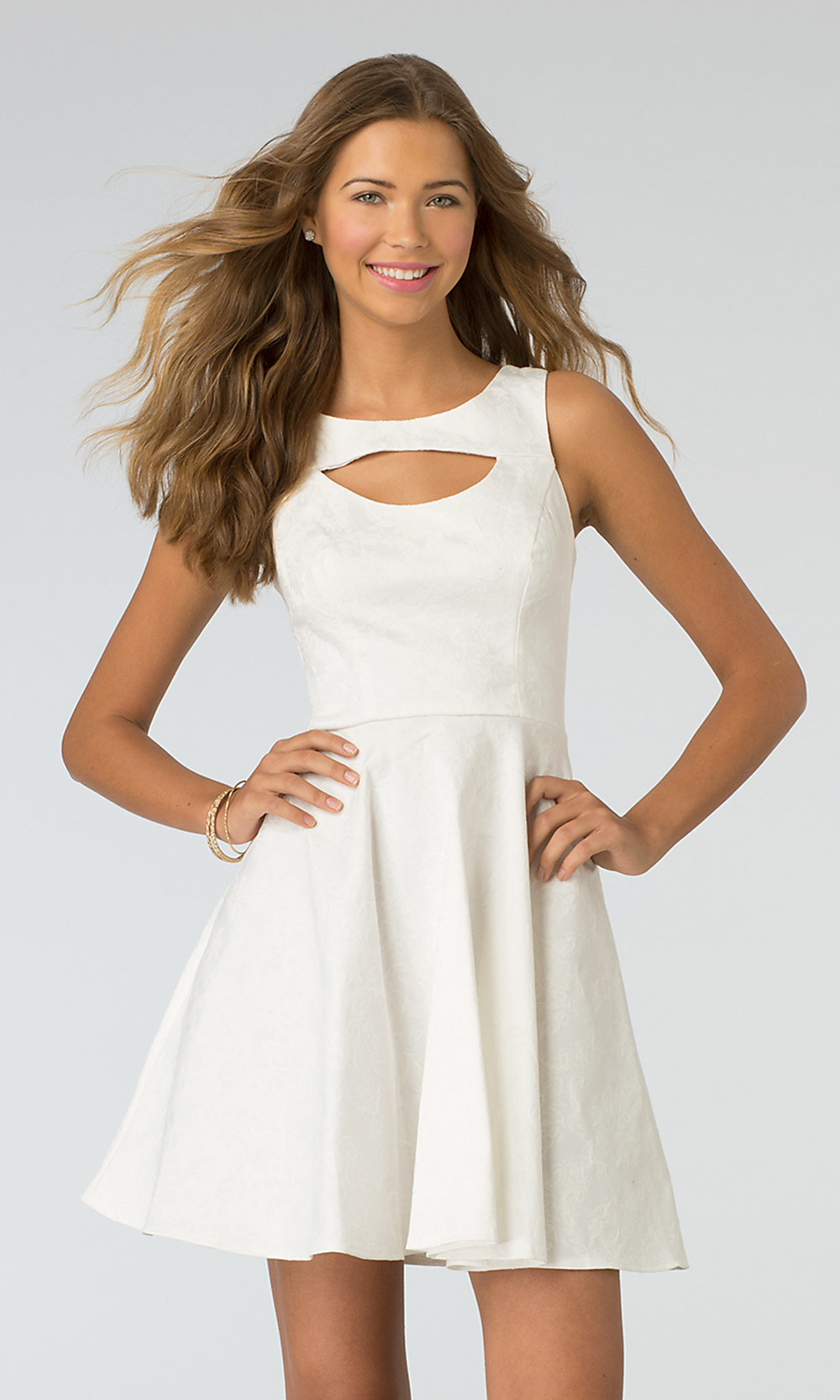White Dresses For Juniors
