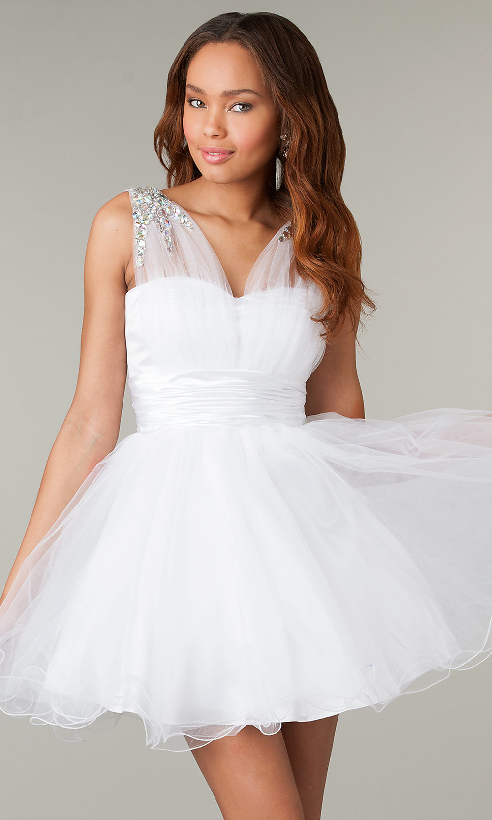 Babydoll Homecoming Dresses