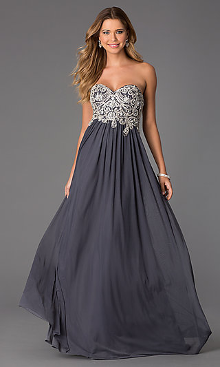 Grey Formal Dresses - RP Dress