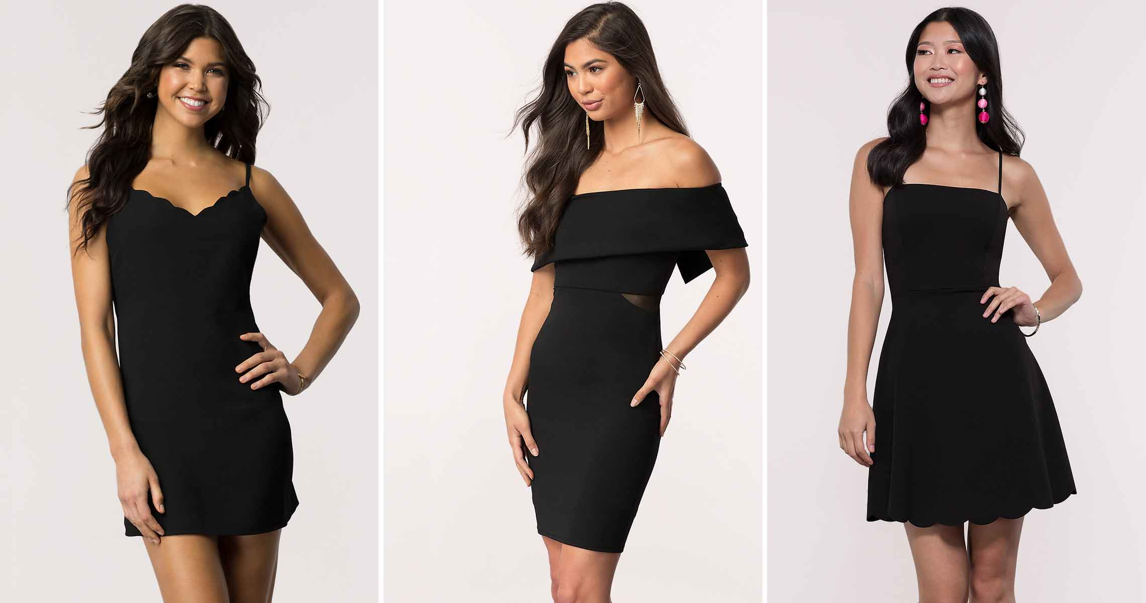 What to Wear with Little Black Dresses, LBD Accessories