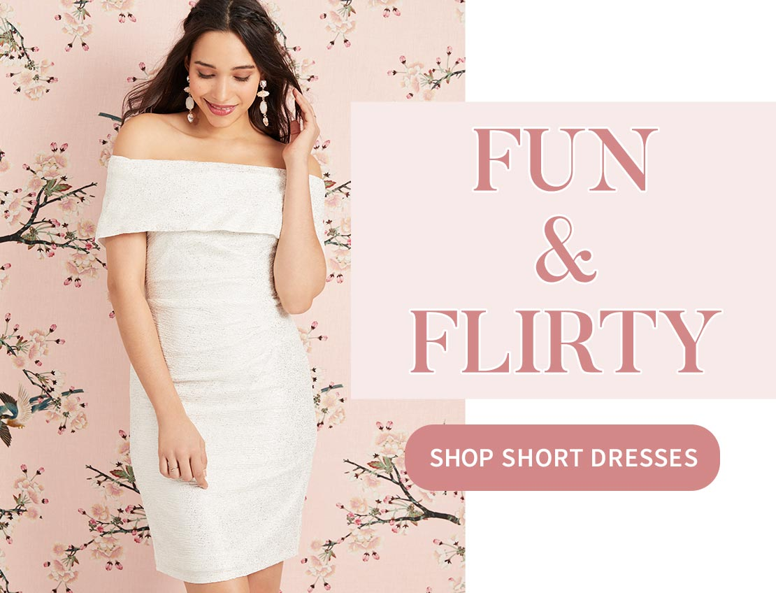 SHOP SHORT DRESSES