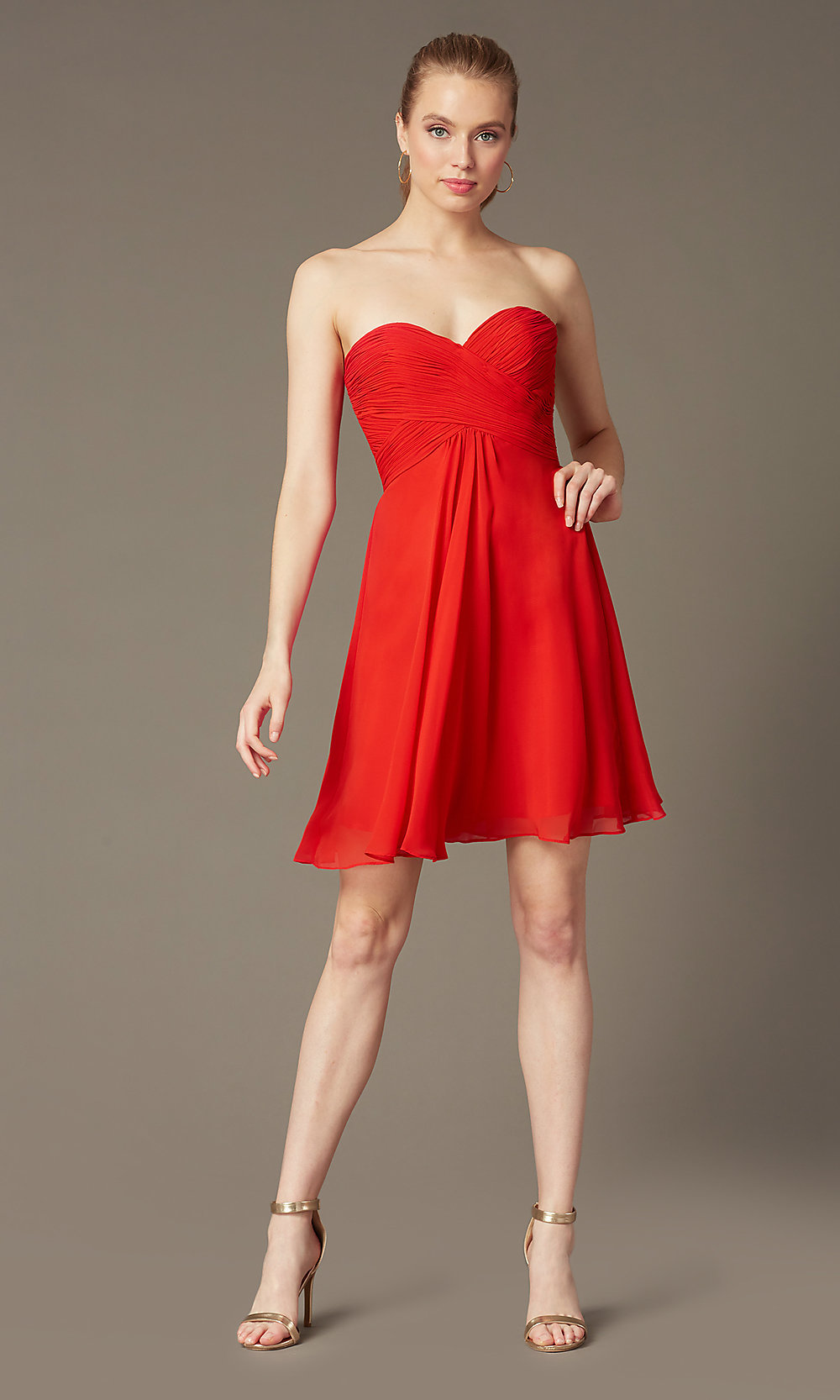 7dac534aba Short Cocktail Dress by Faviana -SimplyDresses