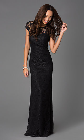 Long Formal Party Dresses with Sleeves
