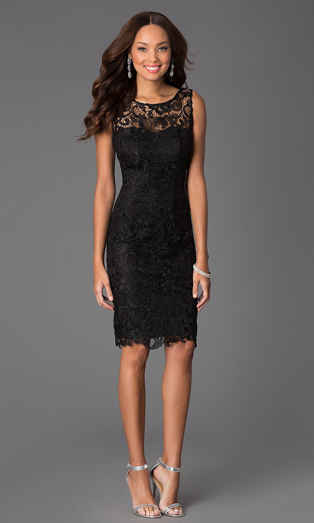 36cf4dd03 Little Black Lace Dress Sleeveless - Dress Foto and Picture