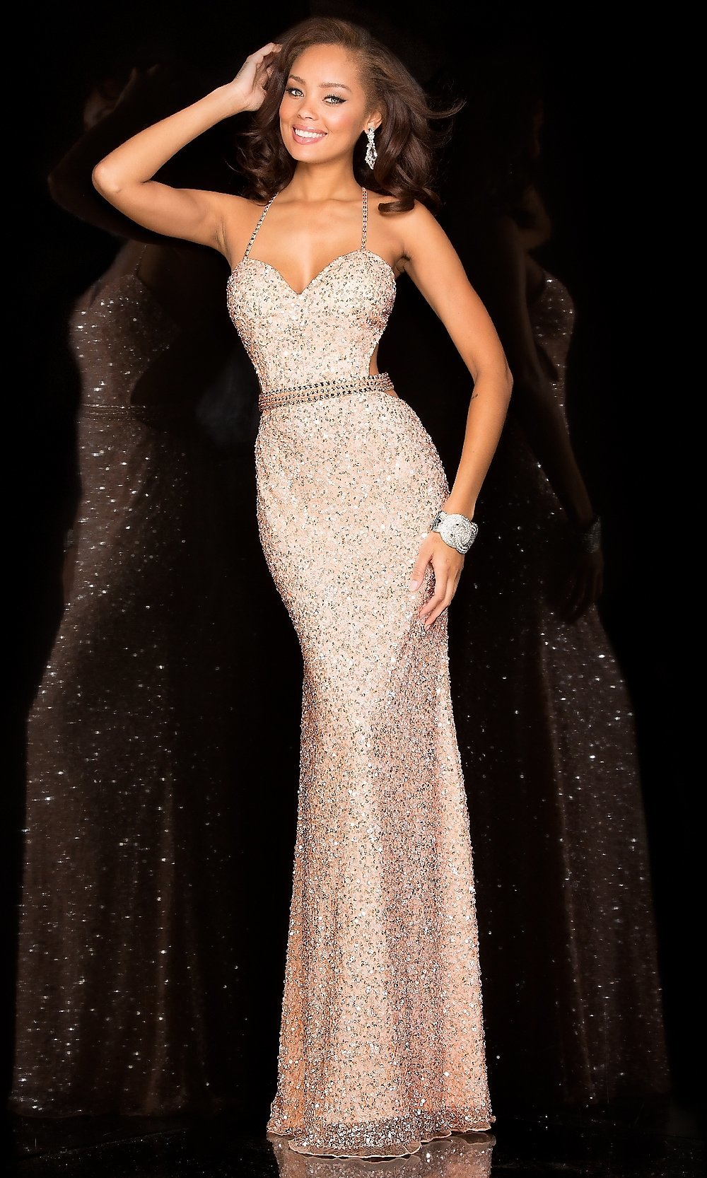 Homecoming Dresses, Formal Prom Dresses, Evening Wear: Floor Length ...