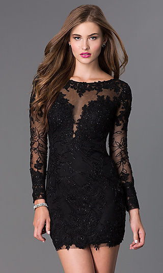 Short Prom Dresses, Short Homecoming Dresses