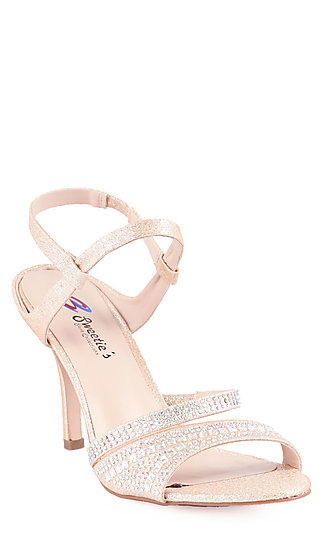 Sweeties Open Toe Nude Heel