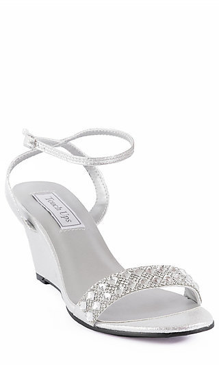 Carter Wedge in Silver
