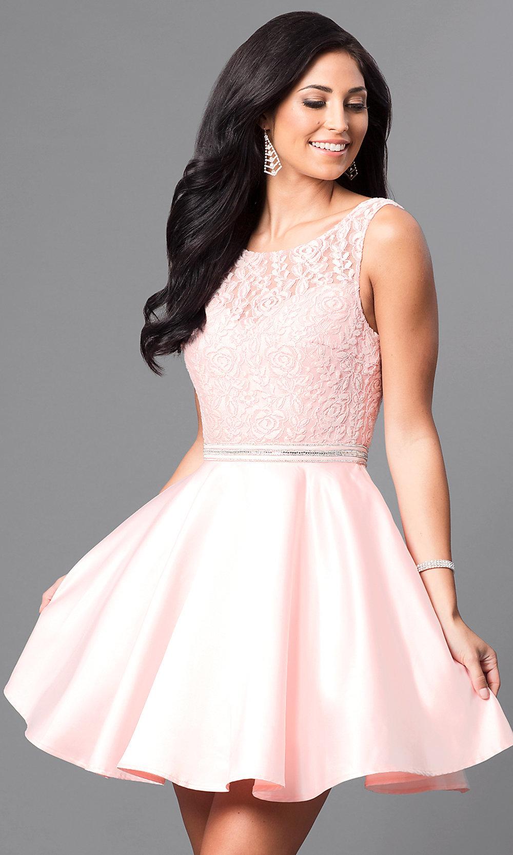 e8be0a69216 ... short homecoming party dress. Style  DQ. Tap to expand