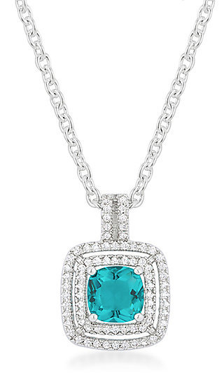 Turquoise Center Pendant Necklace