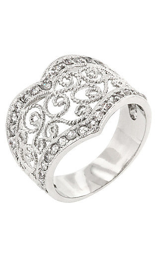 Filigree Ring by Le Chic