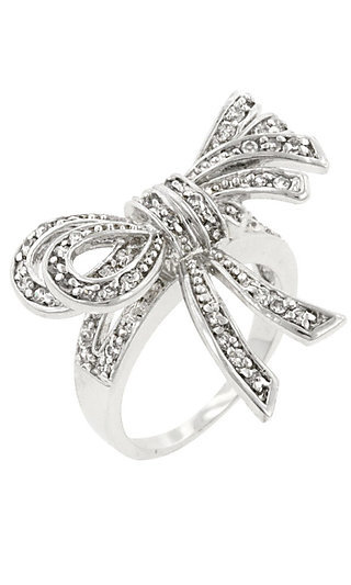 Bow Ring by Le Chic