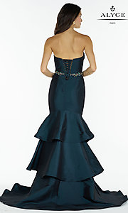 Image of Alyce strapless sweetheart long mermaid prom dress. Style: AL-A6734 Back Image