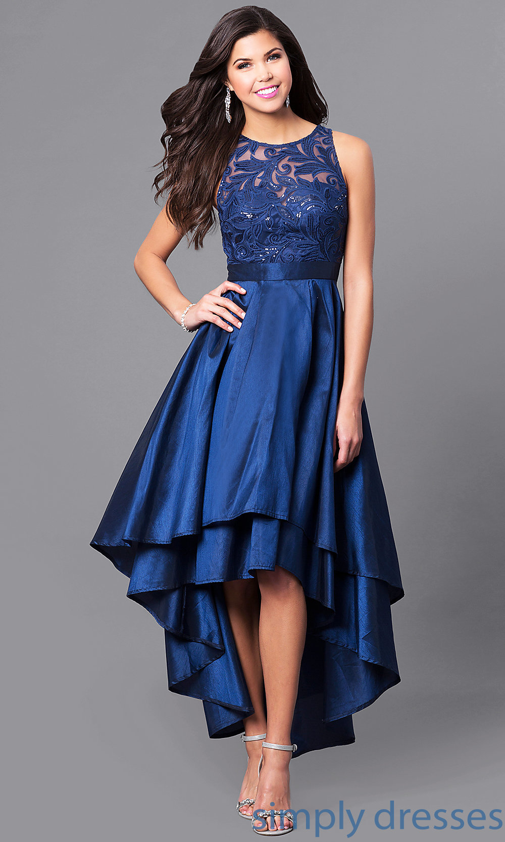 ... prom dress with sequins. Style  LP. Tap to expand f767aa812