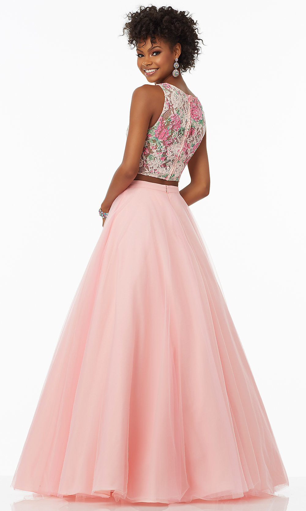 d02068819797 Two Piece Homecoming Dresses Pink – DACC
