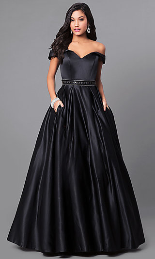 Designer Ball Gowns for Prom, Plus-Size Ball Gowns