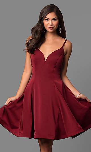 Knee-Length Dresses, Cocktail Dresses in Knee Lengths