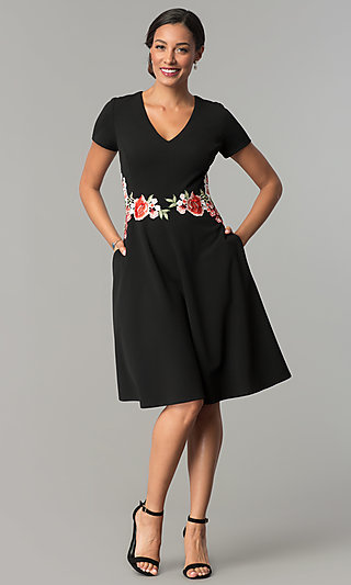 Cocktail Dress with Pockets