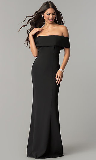 Over the Shoulder Formal Dress