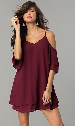 Long Sleeve Gowns, Cocktail Party Dresses with Sleeves
