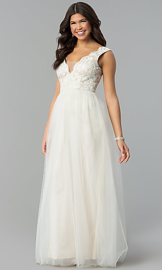 Reception dinner dresses semi formal white dresses mt 7698 junglespirit Image collections