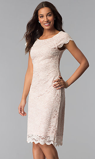 White Mother of the Bride Dress