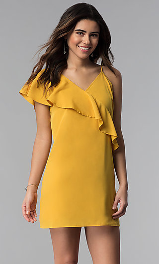 Yellow Formal Evening Gowns Party Dresses In Yellow