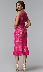 Hot Pink Dress For Wedding Guest