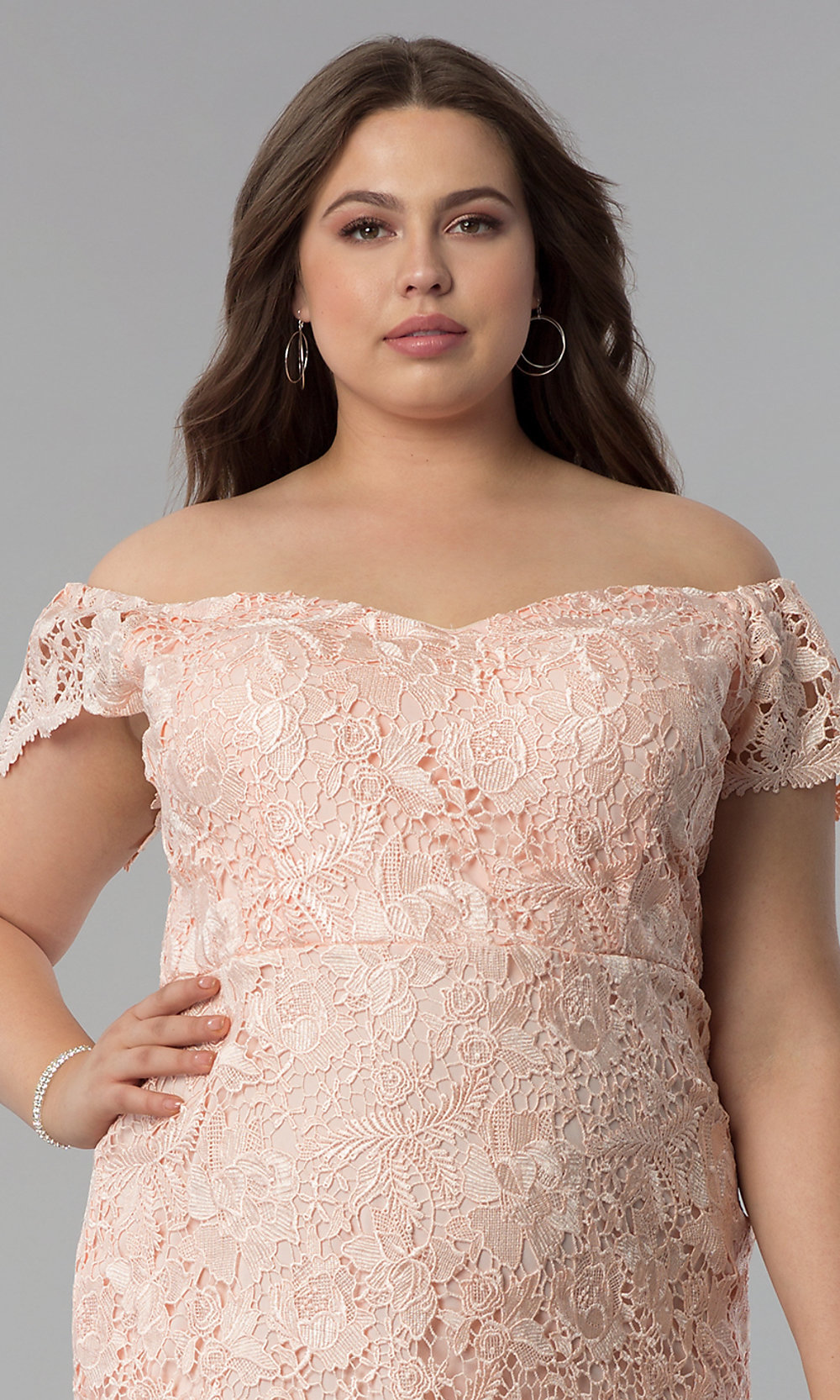084aef78616 ... plus-size wedding guest lace dress. Style  SOI. Tap to expand