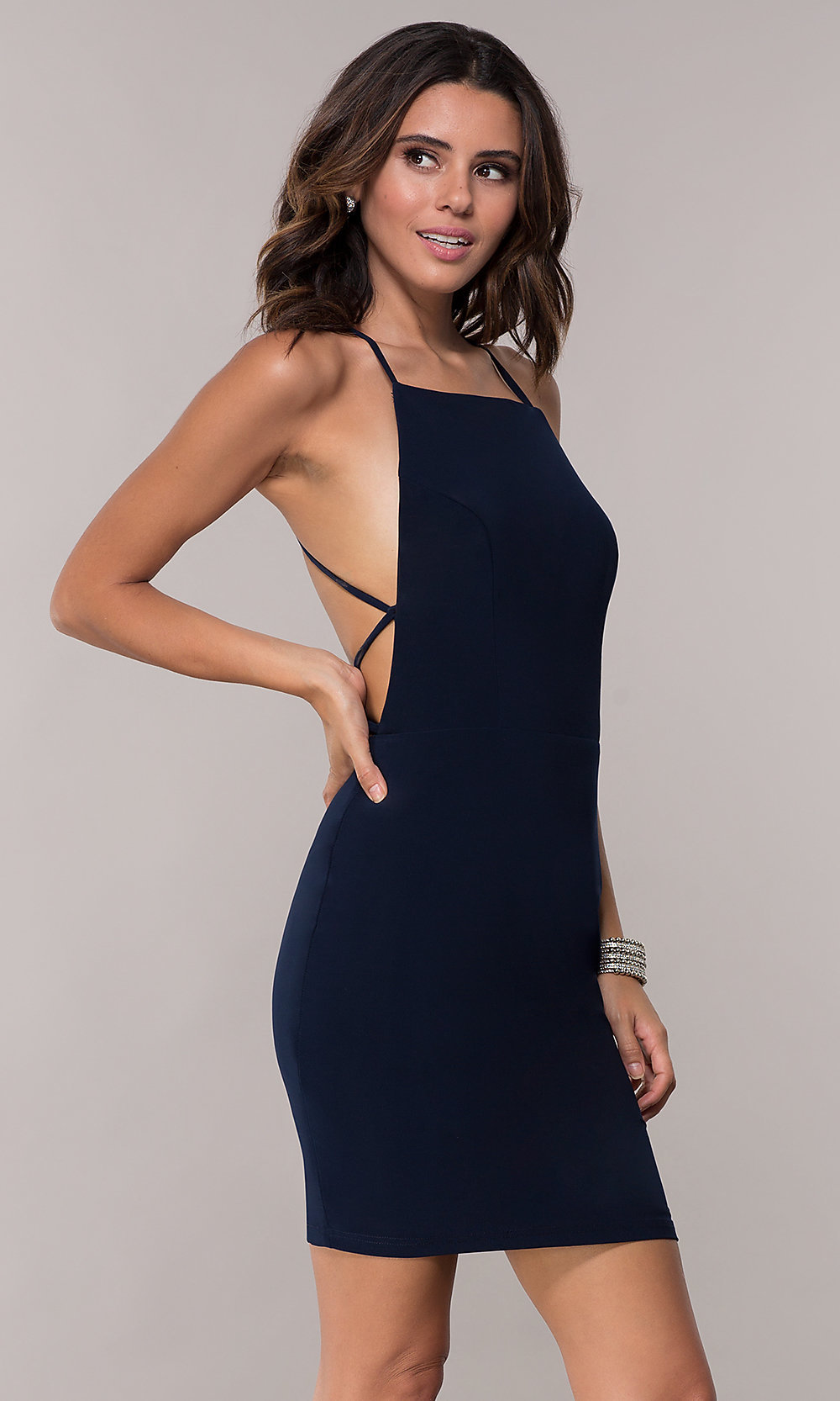 89d40832119ff Tap to expand. Image of Alyce short homecoming dress ...