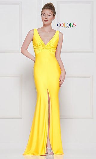 One-Shoulder Long Formal Dress