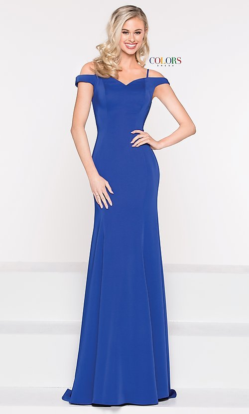 Image of long sweetheart princess-cut formal dress. Style: CD-2017 Detail Image 8