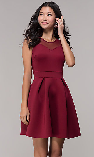 Short Homecoming Dresses Short Semi Formal Dresses