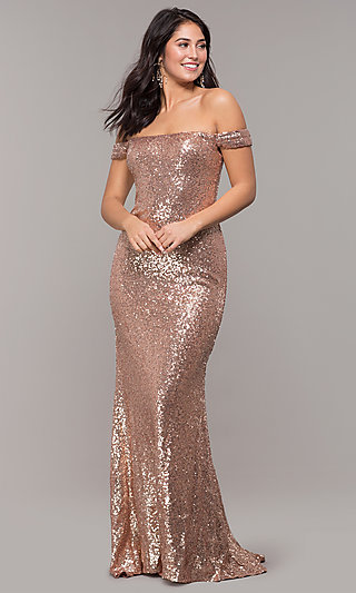 1402de2d6d3 Sequin Cocktail Dresses, Long Formal Gowns with Sequins