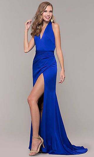 Halter-Style Long Glamour by Terani Prom Dress