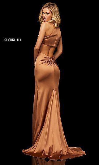 769839c294d Long Sexy Formal Evening Dress with Back Cut Out