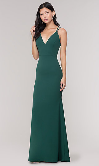 Green Formal Gowns Green Cocktail Party Dresses