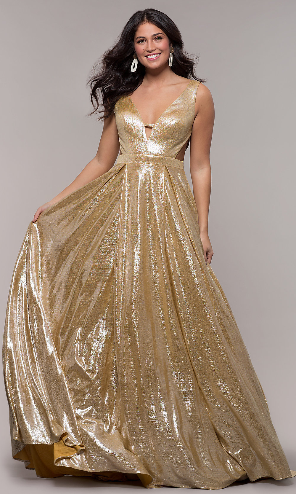 Formal Gold Dress