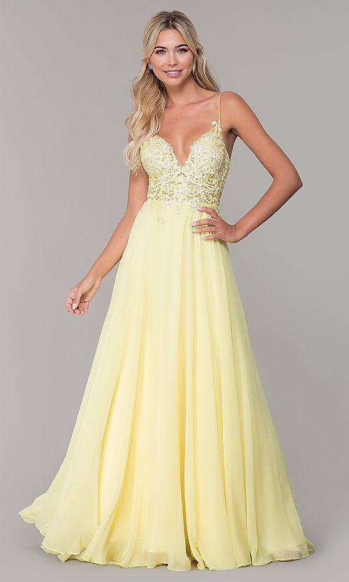 Image of Dave and Johnny long prom dress with beaded bodice. Style: DJ-A7248 Detail Image 5