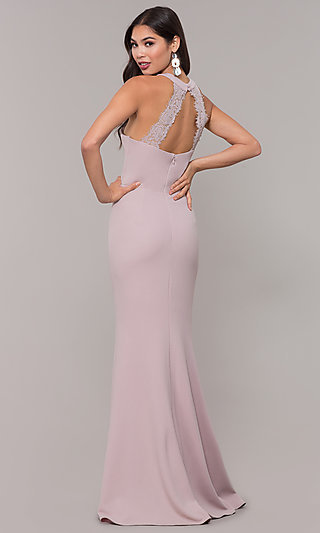 Sleeveless High-Neck Long Formal Dress for Prom. Share bf2763b91