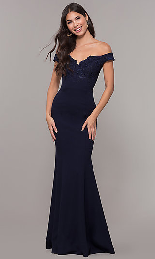 760acbeaf91 Embroidered Formal Dresses and Evening Gowns