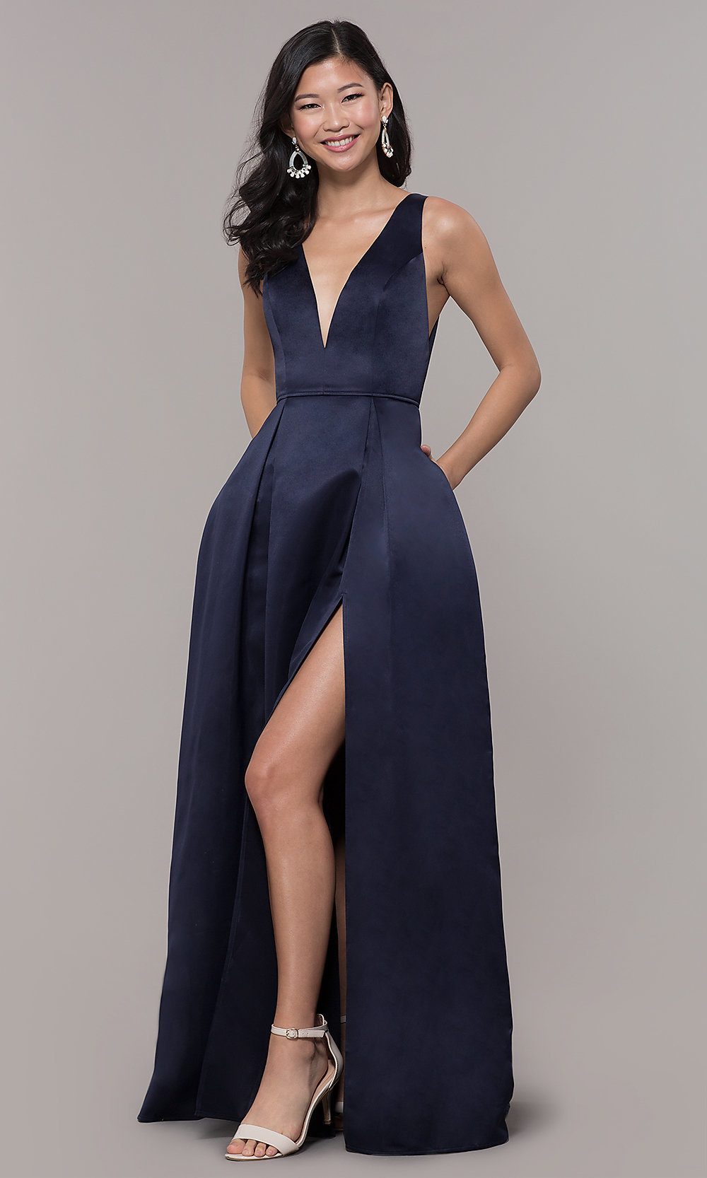 ... formal satin dress. Style  LP-. Tap to expand 609c4d8e5