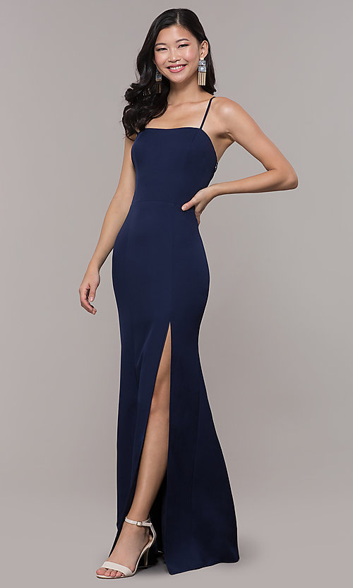 Image of long formal corset military ball dress by Simply. Style: LP-SD-27604 Detail Image 5