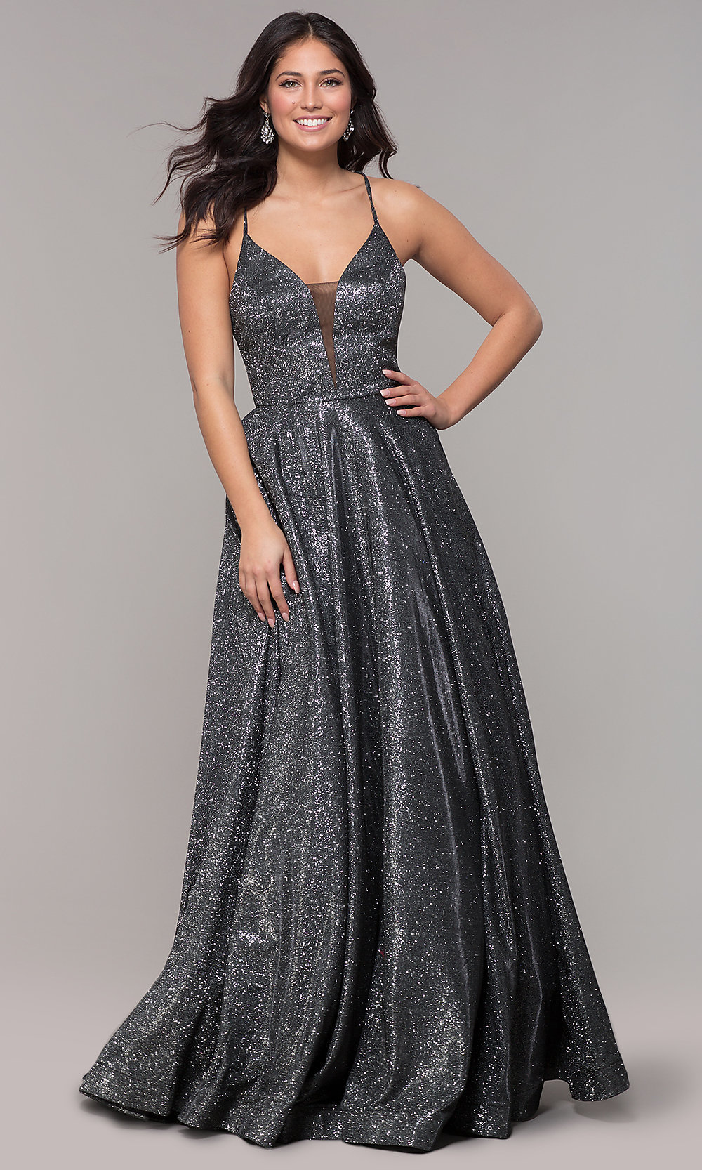Corset-Back Satin Strapless Ball Gown for Prom