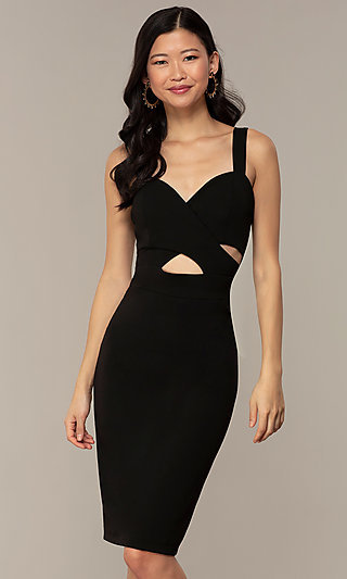 Sweetheart LBD Knee-Length Cocktail Party Dress