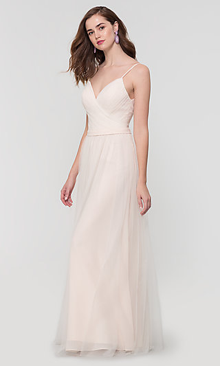 Tulle and Chiffon Bridesmaid Dress by Kleinfeld
