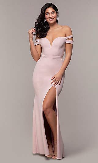 e230dcea27 Off-the-Shoulder Evening Gowns, Cocktail Party Dresses
