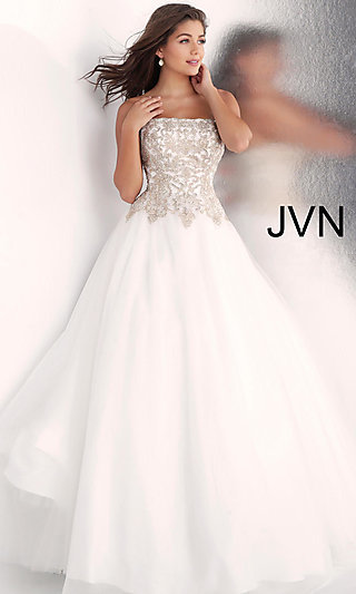 Ball Gown-Style Formal Gown from JVN by Jovani