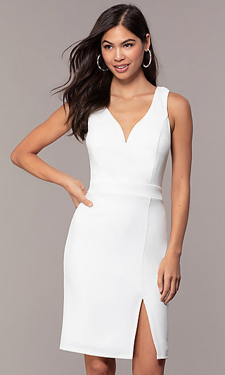 Graduation Party V-Neck Dress by Simply