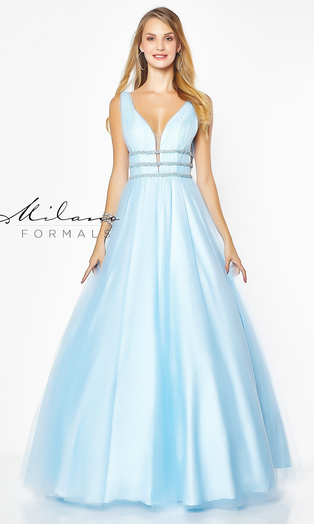 A-Line Evening Gown